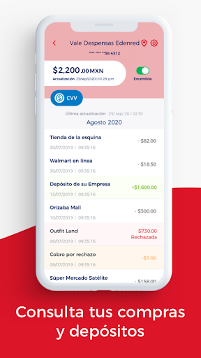Edenred Wallet 4.3.8 Screenshots 3