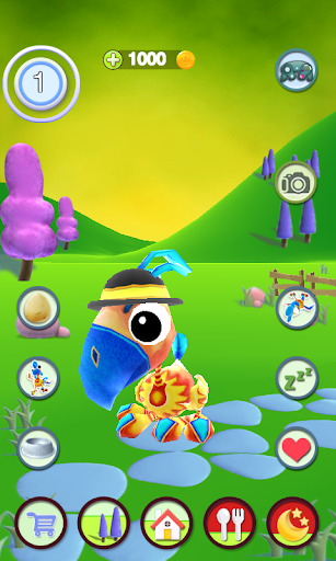 Talking Bird 1.2.1 screenshots 1