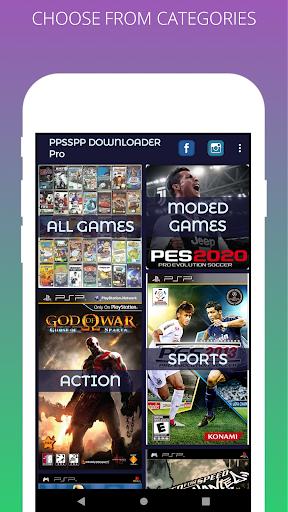 PSP Games Downloader - Free PSP Games , ISO free Screenshots 3