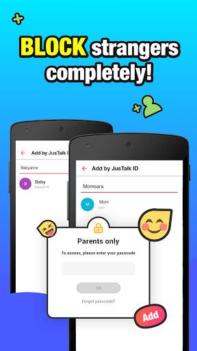 JusTalk Kids - Safe Video Chat and Messenger  Screenshots 4