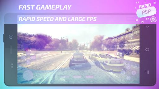 Rapid PSP Emulator for PSP Games 4.0 Screenshots 1