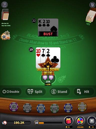 BlackJack 21 - blackjack free offline games 1.5.2 screenshots 12