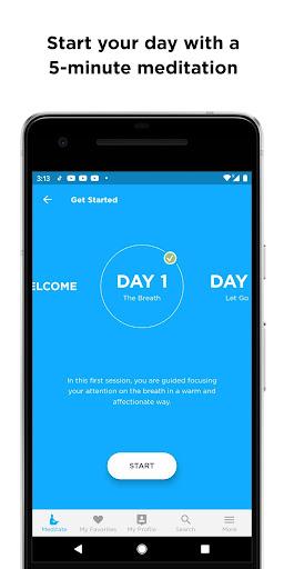 The Mindfulness App: relax, calm, focus and sleep screenshots 2