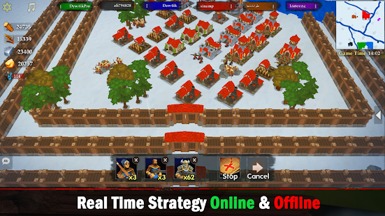 War of Kings : Strategy war game Screenshot