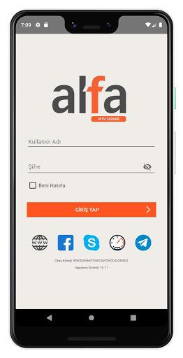 ALFA iPTV Player screenshot 1