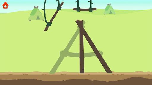 Dinosaur Time Machine - Time travel game for kids  screenshots 2