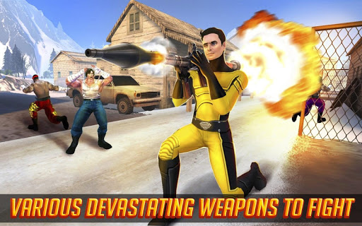 Superhero Street Fights - City Rescue Battle 4 screenshots 2