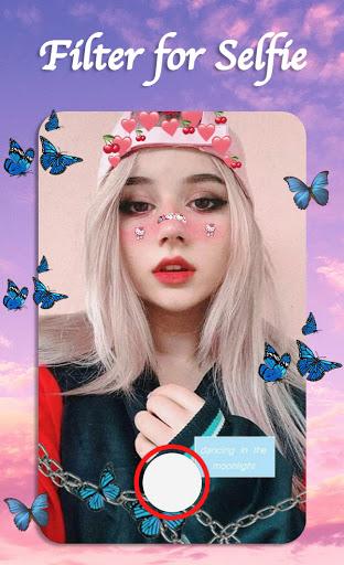 Filter for Selfie - Sweet Snap Face Camera  Screenshots 12