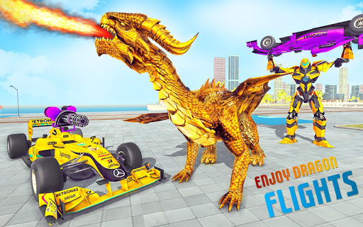 Dragon Robot Car Game u2013 Robot transforming games 1.2.9 screenshots 1