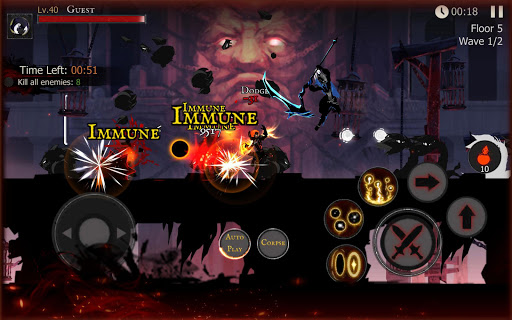 Shadow of Death: Dark Knight - Stickman Fighting 1.95.2.0 screenshots 12