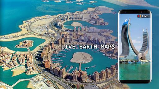 Live Earth Map 2020 -Satellite & Street View Map  Screenshots 2