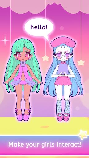 Mimistar - Pastel chibi doll girl dress up maker  screenshots 21
