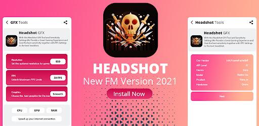 Headshot GFX Tools For FF Versi 1.0