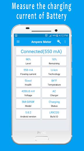 Ampere Meter screen 0