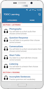 TOEIC Practice Listening & For Pc – Free Download In Windows 7/8/10 And Mac Os 1