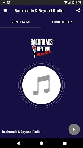 Backroads & Beyond Radio 2.1 screenshots 1