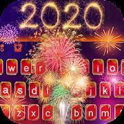 Happy New Year 2020 Keyboard Theme