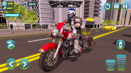 City Bike Driving Simulator-Real Motorcycle Driver screenshots 12