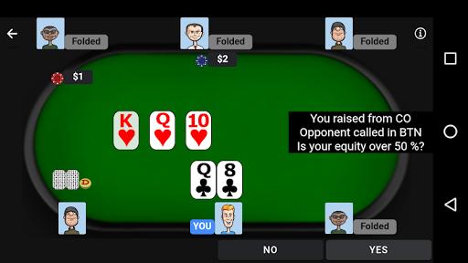 Poker Trainer - Poker Training Exercises 3.1.8 screenshots 4