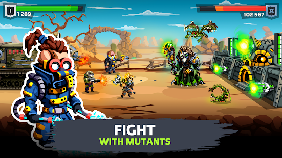 SURVPUNK - Epic war strategy in wasteland