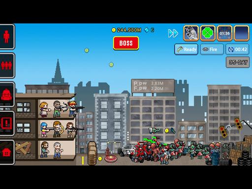Code Triche 100 DAYS - Zombie Survival APK MOD (Astuce) screenshots 1