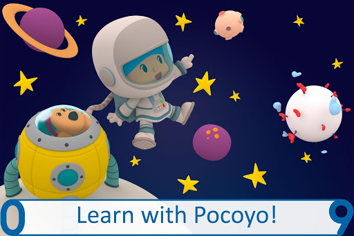 Pocoyo 1, 2, 3 Space Adventure: Discover the Stars  screenshots 1