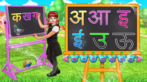 Hindi Alphabets Learning And Writing apkdebit screenshots 2