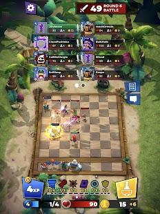 Schermata di scacchi da combattimento del caos