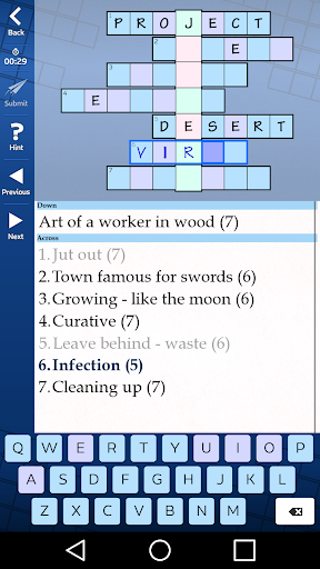 Astraware Acrostic 2.50.002 screenshots 1
