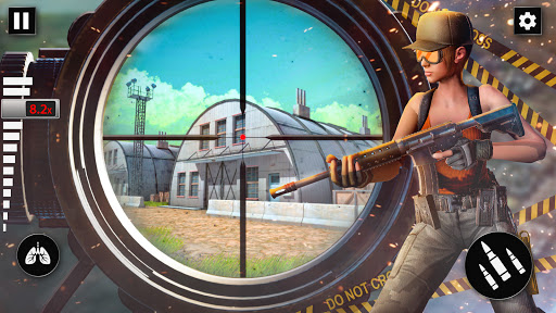 Ruthless Sniper Shooter: New Shooting Games 2021 modiapk screenshots 1
