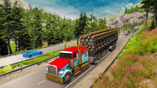 Offroad Transport Truck Driving:Truck Simulator 3D 1 screenshots 1