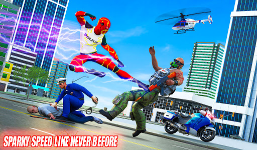 Top Speed Hero Police Robot Cop Gangster Crime 3.2 screenshots 12