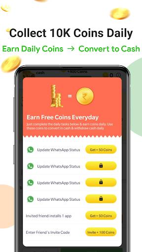 Earn Wallet cash, Free mobile Recharge & coins apktram screenshots 5