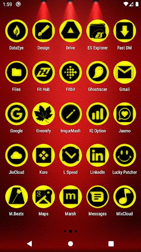 oreo yellow icon pack p2 ✨free✨ screenshot 3