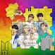 BTS Bangtan Boys puzzle jigsaw
