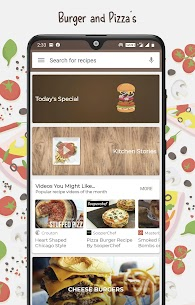 Burger And Pizza Recipes For Pc – Free Download For Windows And Mac 1