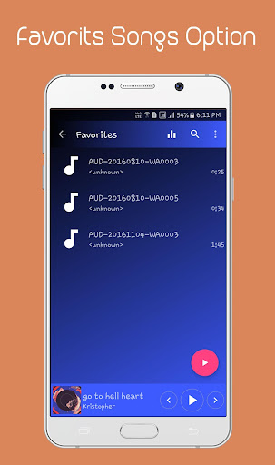 Music Player screenshot 5