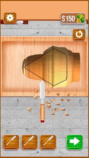 Wood Cutter - Wood Carving Simulator  screenshots 2