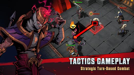 Grimguard Tactics: End of Legends MOD APK 0.6.8 (Unlimited Money) 2