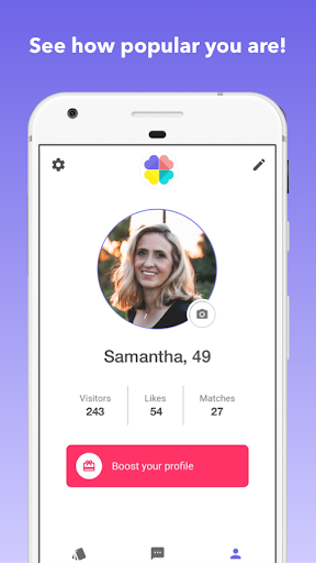 Senior Dating: Date mature singles android2mod screenshots 4