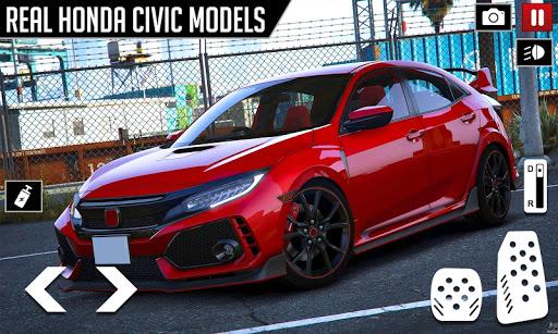 Civic Drifting and Driving Simulator Game  screenshots 2