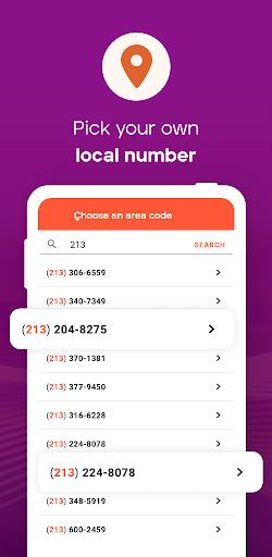 Burner - Private Phone Line for Texts and Calls apktram screenshots 4