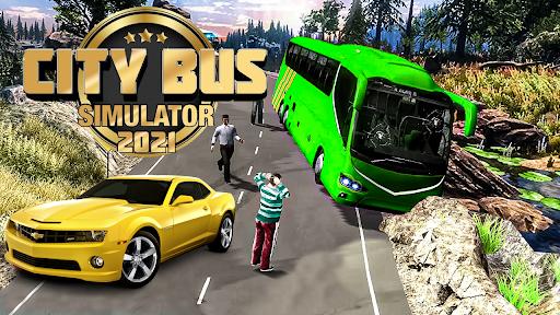Bus Game 2021: City Bus Simulator  screenshots 1