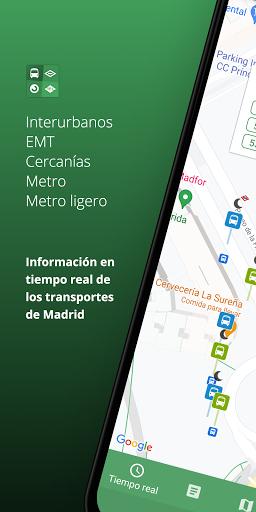 Tu transporte Madrid - Interurbanos EMT Cercanías  screenshots 1