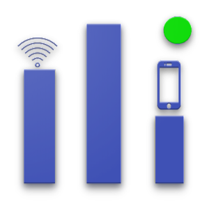 Live Internet Speed Monitor with Usage History