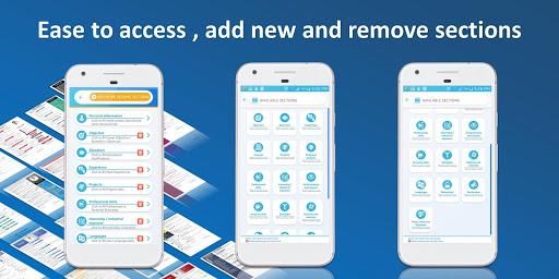 Resume builder Pro  - CV maker Pro Multi-Language 4.6 Screenshots 3