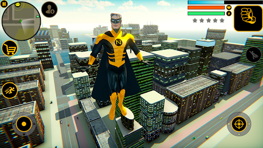 Naxeex Superhero MOD APK (Unlimited Money) 1