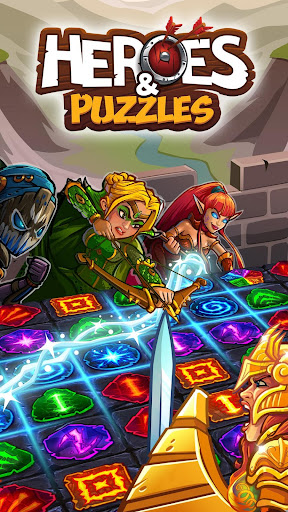 Code Triche Heroes and Puzzles APK Mod screenshots 1