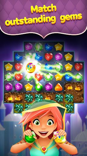 Genies & Gems - Jewel & Gem Matching Adventure  screenshots 2