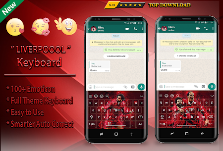 Reds Keyboard Theme Football For Pc | How To Install (Windows 7, 8, 10 And Mac) 3